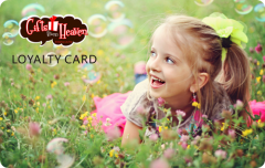 Gifts from Heaven Loyalty Card Membership Card Printing Custom Plastic Cards