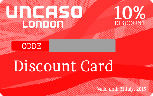 Uncaso Discount Card Printing Custom Plastic Cards Printing