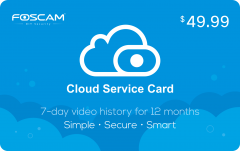 Cloud Service Card Custom Printed Plastic Cards