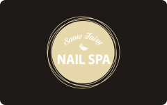 PVC NAIL SPA Card Custom Plastic Cards Printing
