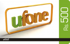 Ufone Paper Custom Scratch Card Printing