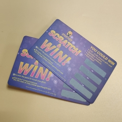 Sparthos Scratch & Win Card Scratch off Printing