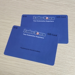 Float House Gift Card Printing Custom Plastic PVC Cards Printing
