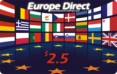 Europe Direct Paper International Calling Card Scratch Card Printing