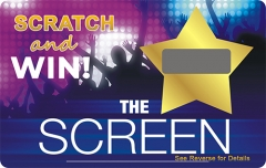 Paper Scratch Win Card Custom Scratch Cards Printing