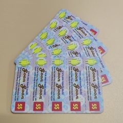 Dosty 3 in 1 Multi-Pin Custom Scratch Cards Printing