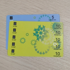 Zain 5 in 1 Multi-Pin Scratch Card Printing Company
