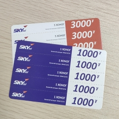 5 in 1 Multi-Pin Skytel Scratch Card Printing Company