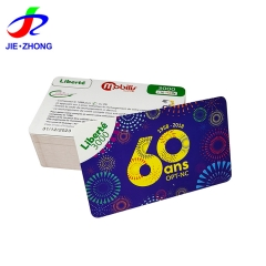 Wholesale custom printing promotional discount coupon card barcode paper voucher scratch card