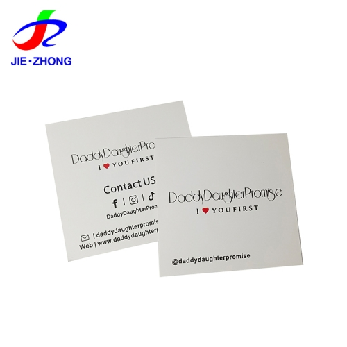 Custom printing making double sided private label phone scratch off card paper square business cards